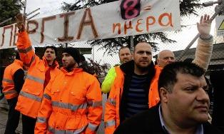 polizeieinsatz gegen streikende ubahnarbeiter athen420130125074007