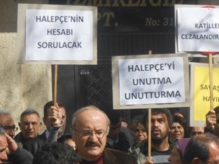 erzinganda katliamlar protesto edildi
