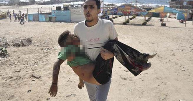 israil çocuk öldürüyor