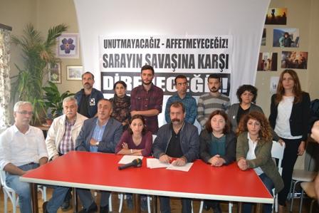 İzmirde basın toplantısı