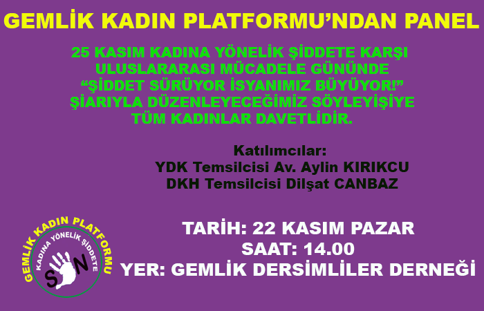 Gemlik Kadın Platformu