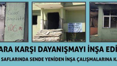 Gever dayanışma çağrısı 13.08.2016