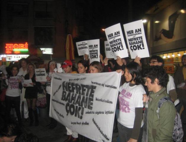 2010 nefrete bahane cok alsancak eylemi 2