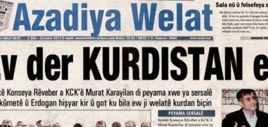 Azadiya Welat Yazı İşleri Müdürüne 2 yıl 4 ay hapis