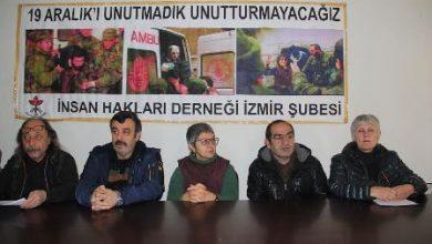 İHD İzmir basın toplantısı