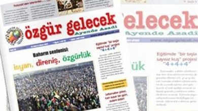 Ozgur Gelecek gazetesi