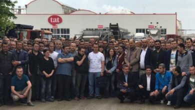 Bursada TAT Gıdada çalışan 2 işçi yarın greve çıkıyor