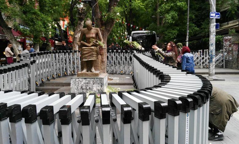 ank yuksel halkevci kadinlar cicek birakma 27.05.2017 5