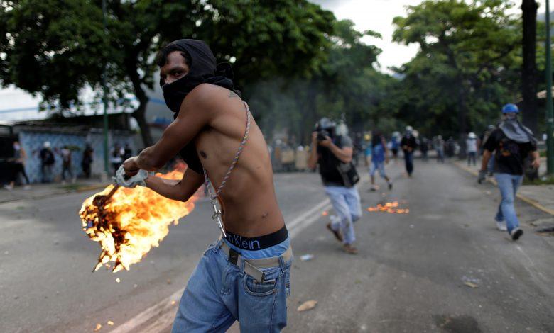 venezuella çatışmaa