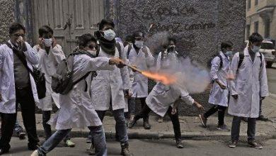 bolivyal doktorlar süresiz grevde 4