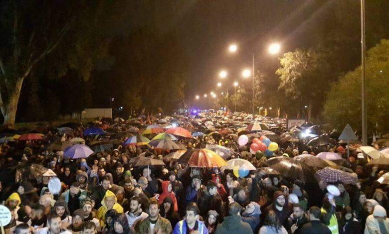 Kıbrıslılar Barış talebiyle sokağa çıktı