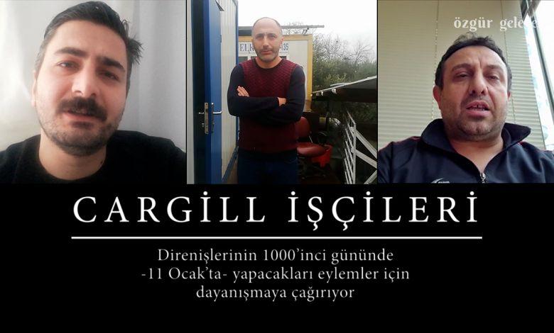 Photo of ÖZEL HABER   Cargill işçilerinden direnişlerinin 1000'inci günü için destek çağrısı